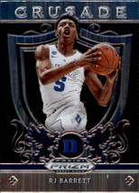 RJ Barrett 2019-20 Panini Prizm Draft Picks Crusade Rookie Card #72 - $3.00