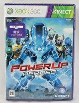 PowerUp Heroes (Microsoft Xbox 360, 2011) Japan Import Sealed - $59.39