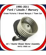 1990-2011 Ford Crown Victoria Mercury Grand Marquis Blower Motor Assy Li... - $44.50