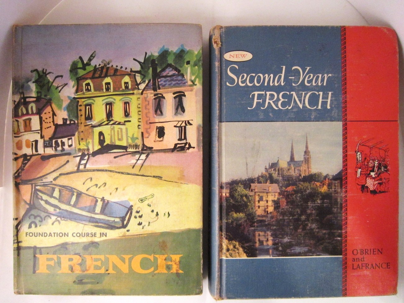 Foundation Course in French 1957 and New Second Year French 1959