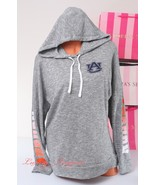 PINK VS Collegiate Collection Auburn Tigers Knitted Hoodie Jacket S Heat... - $44.99