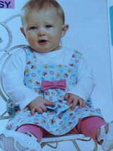 Kwik Sew Sewing Patterns 3607 Baby Infant Jumper Top Leggings Size XS-XL... - $14.85