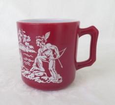"Hazel Atlas ""Indian"" Mug, circa 1950's - $7.00"