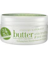 Cuccio Naturale White Limetta  Aloe Vera Butter Blend 8 oz - $25.75