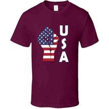 Fight Power Usa T Shirt image 3