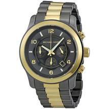 Michael Kors MK8160 45mm Men's Watch Two-Tone Stainless Steel Bracelet Chrono - $256.63