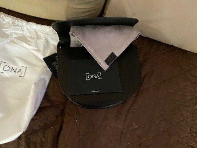 ONA Savannah II Leather Camera and Everyday Crossbody Bag (Black) Brand New