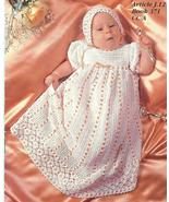 HEIRLOOM BABY CHRISTENING SET CROCHET PATTERNS~... - £19.32 GBP