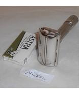 Gillette Fat Boy 1960 Razor TTO Adjustable Replated Bright Nickel F4–NIC - $150.00