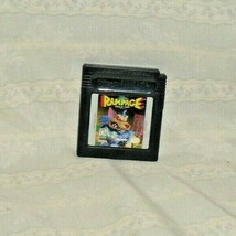 Rampage Nintendo Game Boy AUTHENTIC GAME ONLY TESTED AND WORKING. - $9.95