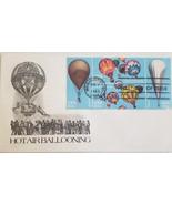FDC Hot Air Ballooning Mar 31 1983 - $4.95
