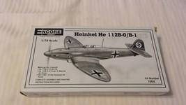1/72 Scale Encore Models Heinkel HE 112B-0/B-1 Airplane Kit BNOS #1004 - $33.41