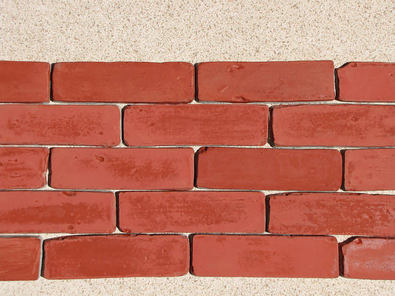 "60 Molds + Supply Kit to Craft Custom 8""x2.5"" Antique Brick Veneer For $.08 EACH"