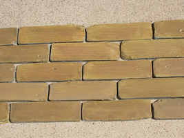"60 Molds + Supply Kit to Craft Custom 8""x2.5"" Antique Brick Veneer For $.08 EACH image 2"