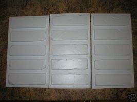 "60 Molds + Supply Kit to Craft Custom 8""x2.5"" Antique Brick Veneer For $.08 EACH image 3"