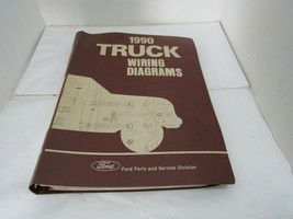 1990 Ford Truck Wiring Diagrams OEM - $44.51