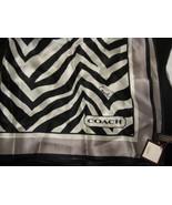 COACH Zebra Neck Scarf NIP 98631  - $60.00