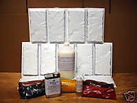 12 Brick Patio Paver Molds & Supply Kit Make 100s 6x12 Brick Pavers @ Pennies Ea