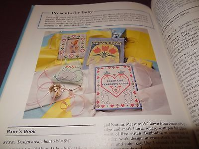 McCall's Needlework Crafts Country Cross-Stitch Book 1992 Patterns Sampler Duck