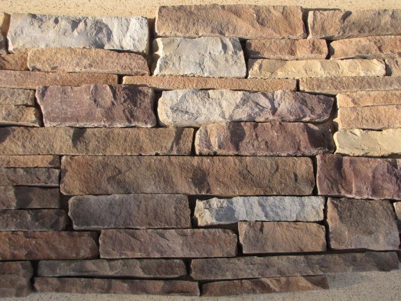 #ODF-05K Drystack Molds(20) Supply Kit Make Flat Faced Stone Veneer For Pennies