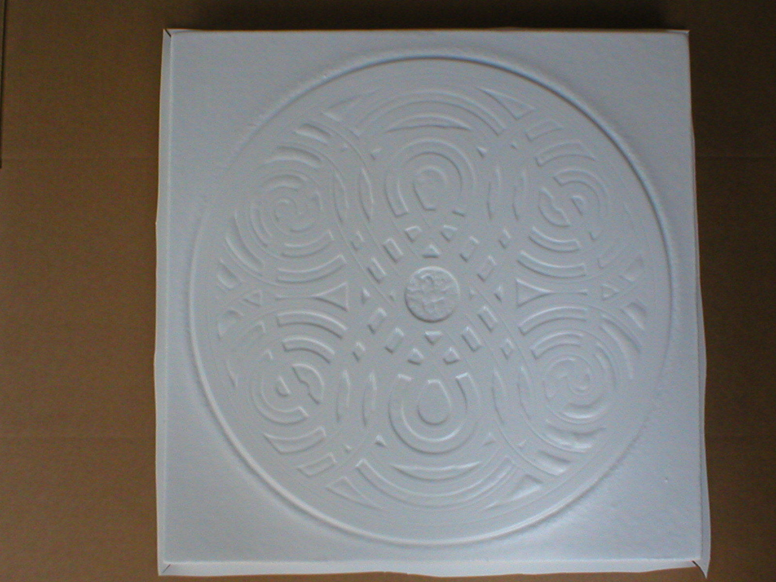 """Giant Celtic Knot Mold 22x22x3"""" Makes Concrete Stepping Stones, Tiles For $3 Ea"""