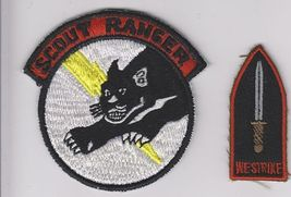 Philippines Army & National Police Scout Ranger Airborne & We Strike Badge 3 x 3 - $14.99