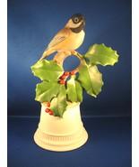 Boehm Porcelain Bird Figure  #438T, Black-Capped Chickadee, 1950s - $125.00