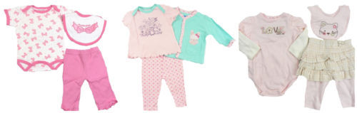 Infant Girl's 3-Piece Outfit Sets Bon Bebe, Baby Headquarters, Mon Cheri CUTE!