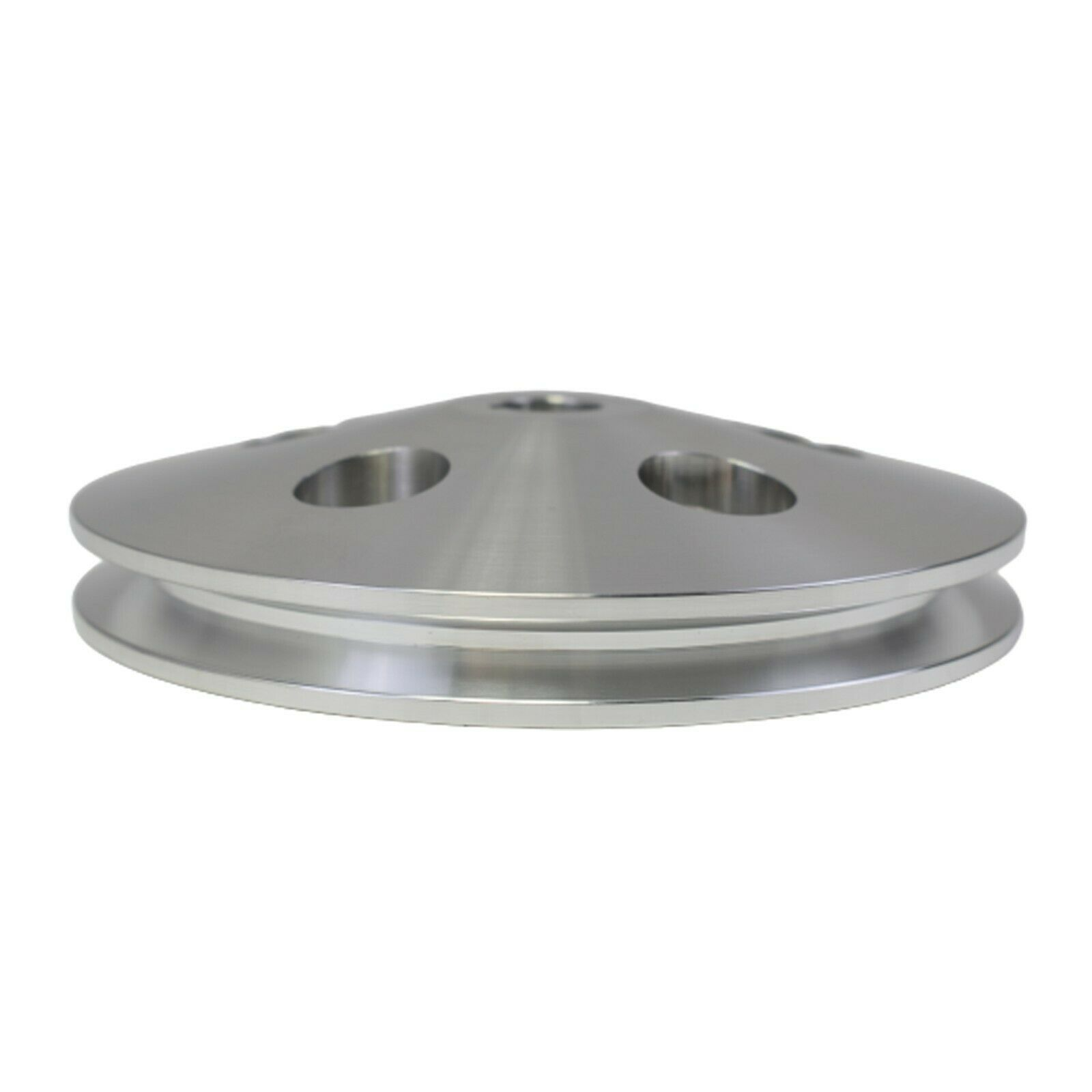3/8 Saginaw Power Steering Pump Single-Groove Aluminum Pulley For GM (Chrome)