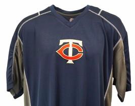 Minnesota Twins MLB Majesctic V-Neck Jersey T-Shirt, Mens, Big & Tall nwt - $24.90