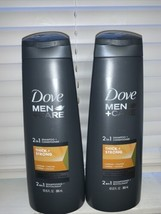 2 Dove Men+Care THICK & STRONG Fortifying Shampoo+Conditioner-12oz. Each - $13.99