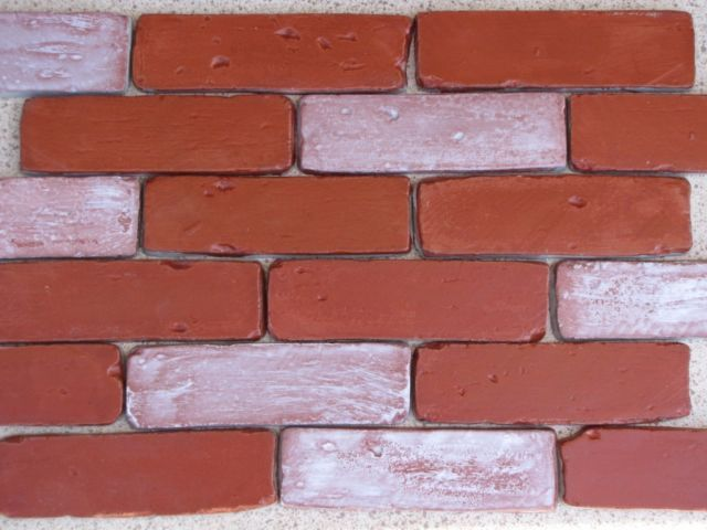 Side Brick Veneer Molds (30) Supply Kit Make 1000s of Antique Brick For $.05 Ea.