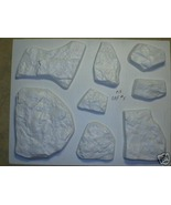 #OAF-05 Fieldstone Molds (8) Makes Custom Concrete Stone Rock For Pennie... - $99.99