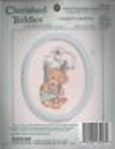 "Cherished Teddies The Stockings Were Hung Cross Stitch Kit #139-26 3.5"" ... - $17.33"