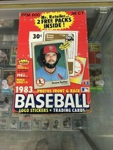 1983 Fleer Baseball 36 Sealed Packs Box Break - 9 Packs Per Spot Tony Gw... - $45.00