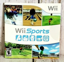 Wii Sports (Nintendo Wii, 2006) Complete in Case with Manual TESTED - $29.69