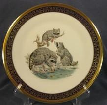 Raccoons Lenox Edward Boehm Woodland Wildlife Decorative Plate 1973 Limi... - $32.95