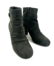 A2 Aerosoles Womens Grey Role Away Round Toe Faux Suede Ankle Boots Size... - $18.69