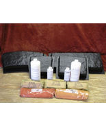 4 Molds Supply Kit Craft Large Concrete Garden Edging Lawn Edge Stones a... - $199.99