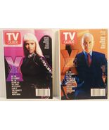 TV Guide X Men Storm and Xavier Covers 2 of 6 i... - $6.00