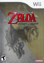 Legend of Zelda Twilight Princess (Nintendo Wii) - $11.35