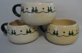 3 Metlox Poppy Trail HOMESTEAD PROVINCIAL Cups - $21.78