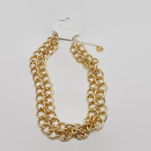 Trifari Gold Tone Double Chain Necklace  - $23.28