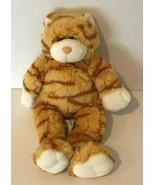 Build A Bear Workshop BABW Orange Striped Tabby Cat Kitten Plush Stuffed... - $12.99