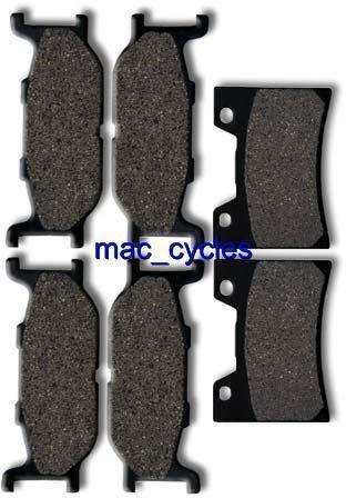 Yamaha Disc Brake Pads XVZ13CT/CTM/CTS 2005-2010 Front & Rear (3 sets)