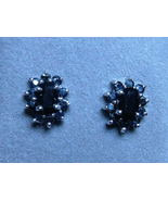 2.16ct Natural Sapphire Stud Earrings Sterling ... - $78.88