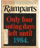 RAMPARTS MAGAZINE - November 17, 1968 - HUEY NEWTON & BLACK PANTHERS, DICK NIXON - $21.98