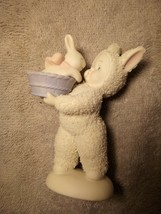 """SNOWBUNNIES  DEPARTMENT 56  """"BASKET OF LOVE"""" FIGURINE--EASTER -FREE SHIP... - $19.97"""