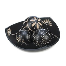 Orbs Decorative Balls With Bowl, Decor Bowl With Balls - Ball Decor Set ... - $26.03