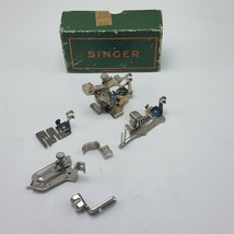 Lot of 6 Singer Sewing Machine Attachments w Box 120598 36865 35931 160359 - $72.51 CAD